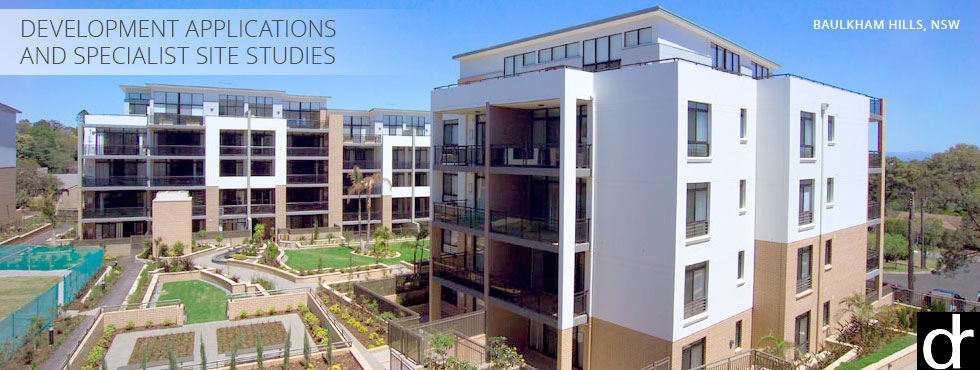 Development applications and specialist site studies